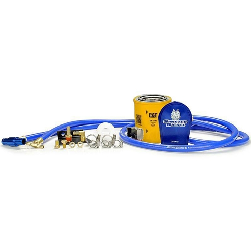 Fit Ford 6.4L Powerstroke Diesel 2008-2010 Coolant Filter System