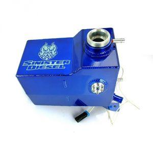 Degas Bottle Cap Sinister Diesel Blue for 2011-2016 Powerstroke 6.7L