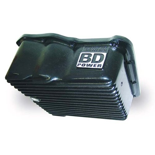BD Deep Sump Transmission Pan 89-10 Ford Powerstroke with E40D/4R100/5R110  1061716