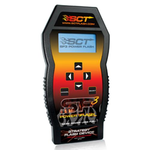 SCT SF3 Power Flash Handheld Pre- Programmed Device Ford 99-12 Powerstroke  SCT SF3 Power Pre-Program