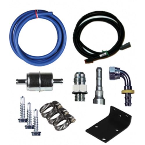 FASS RELOCATION KIT FOR DRP-02 PUMP Fits 98.5-02 DODGE CUMMINS