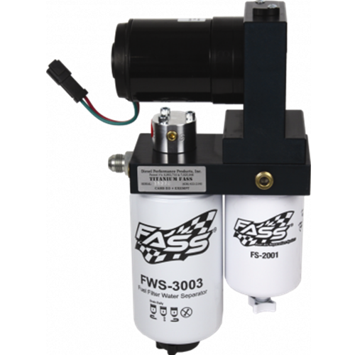 FASS TS 165G Titanium Signature Series Fuel Lift Pump 165GPH Cummins, CAT,  Detroit Diesel Trucks