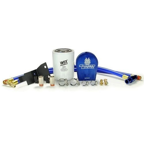 Sinister Coolant Filtration System 03-07 Ford Powerstroke 6.0L SD-COOLFIL-6.0
