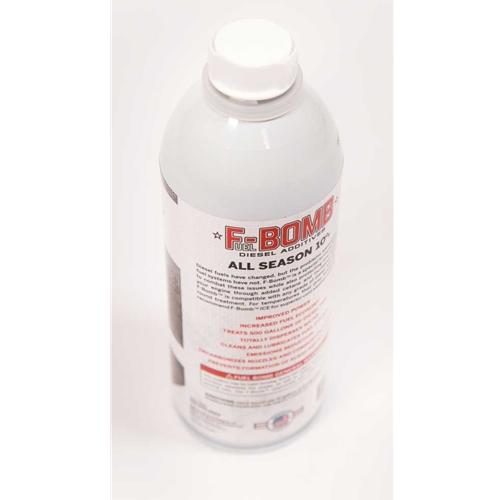 F-BOMB Diesel Fuel Additive | Fuel Bomb 16 oz  Bottle