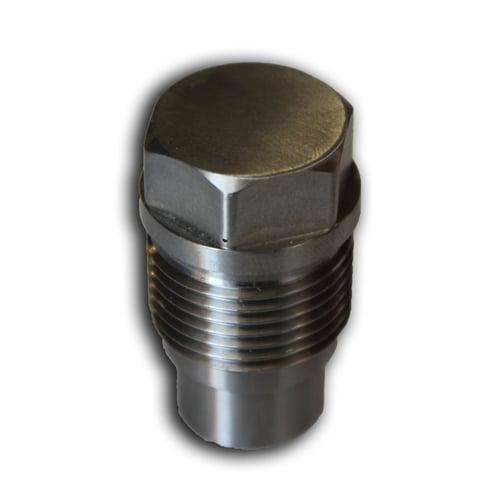 Industrial Injection Pressure Relief Valve Block Off 6 7L Cummins / Duramax