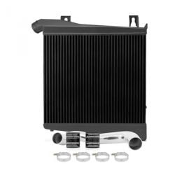 2008-2010 Black Mishimoto MMICP-F2D-08HBK Ford 6.4L Powerstroke Hot-Side Intercooler Pipe and Boot Kit
