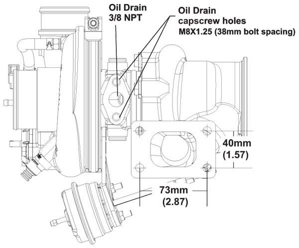 BorgWarner EFR 6258 Turbocharger